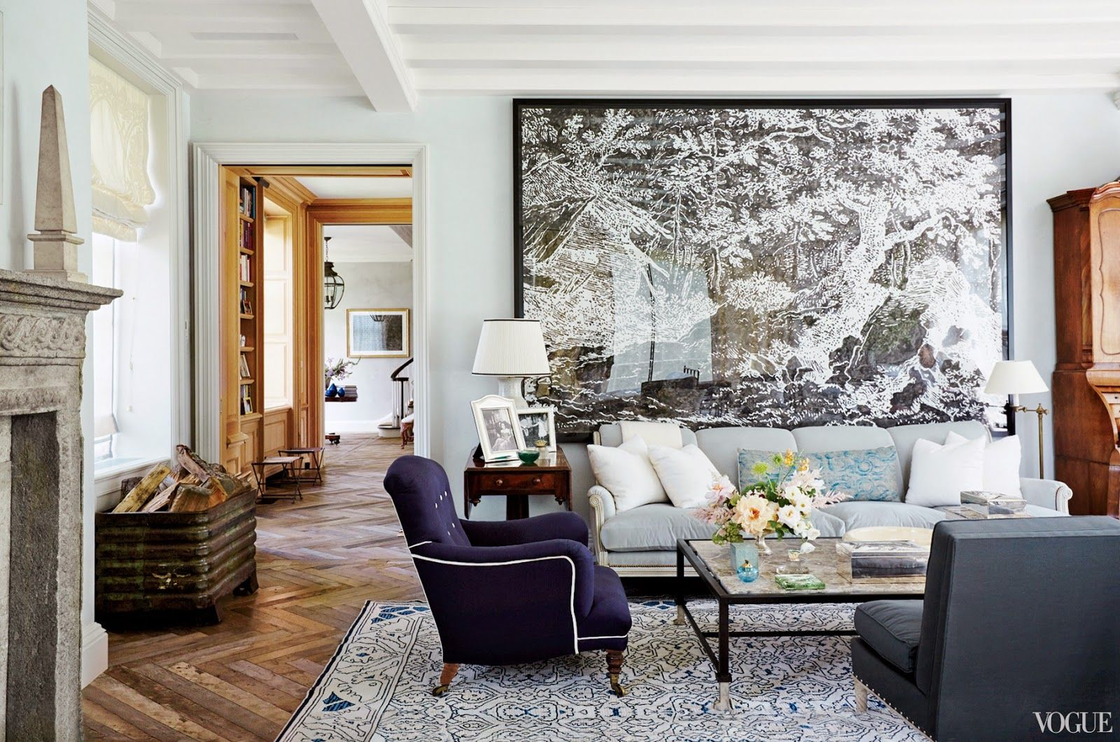 Large artwork above sofa dining areas pinterest dining area