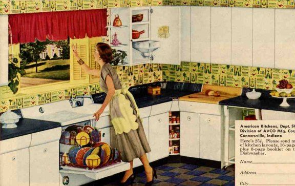 Retro Kitchen Design You Never Seen Before Pinterest American - Retro-kitchen-design-you-never-seen-before