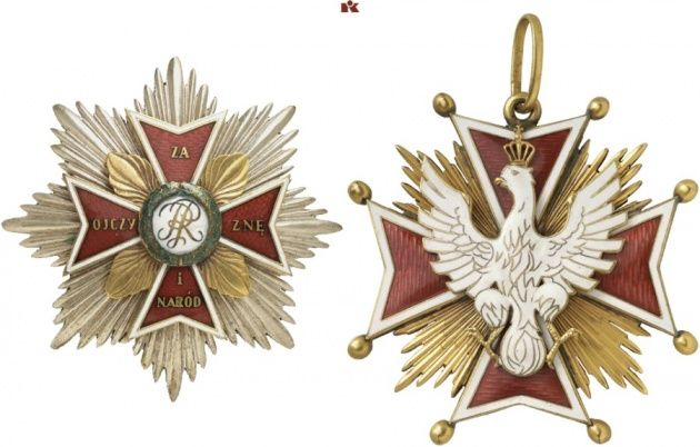 Orden vom Weißen Adler [Order Orła Białego