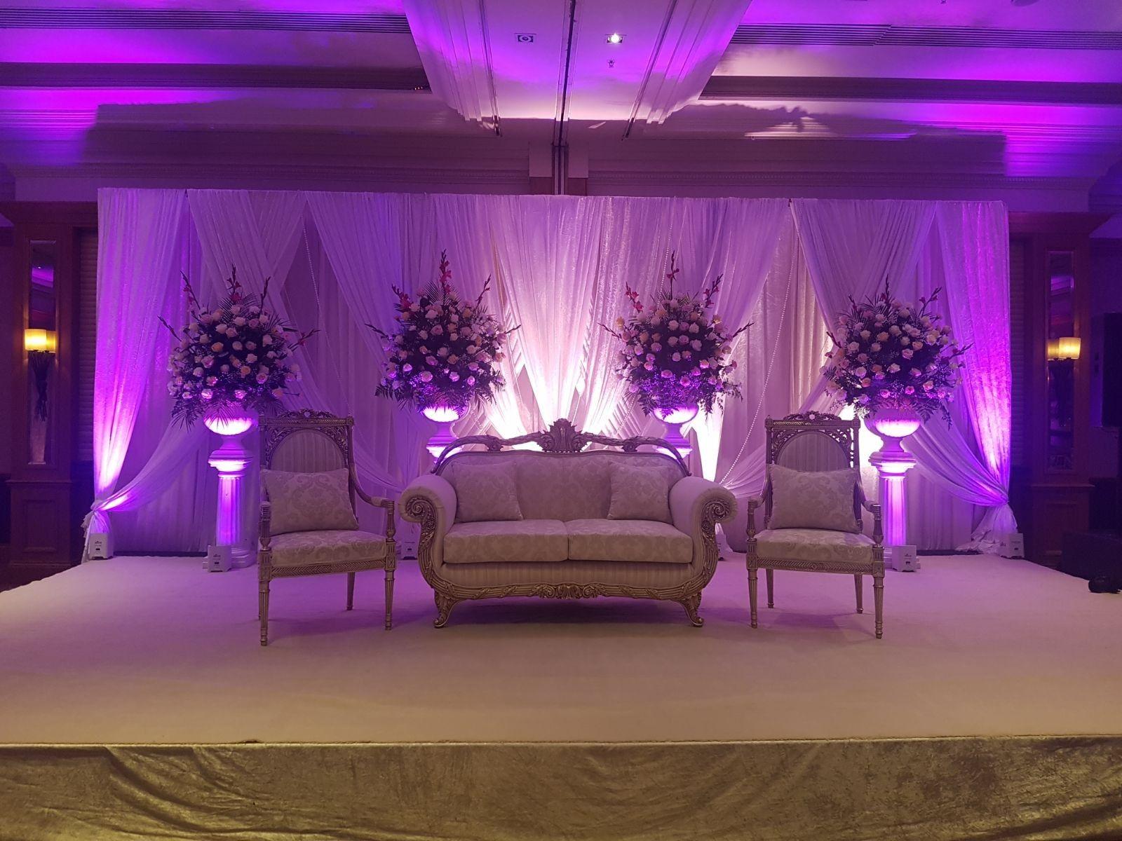 Wedding Stage | Wedding stage, Beautiful wedding ...