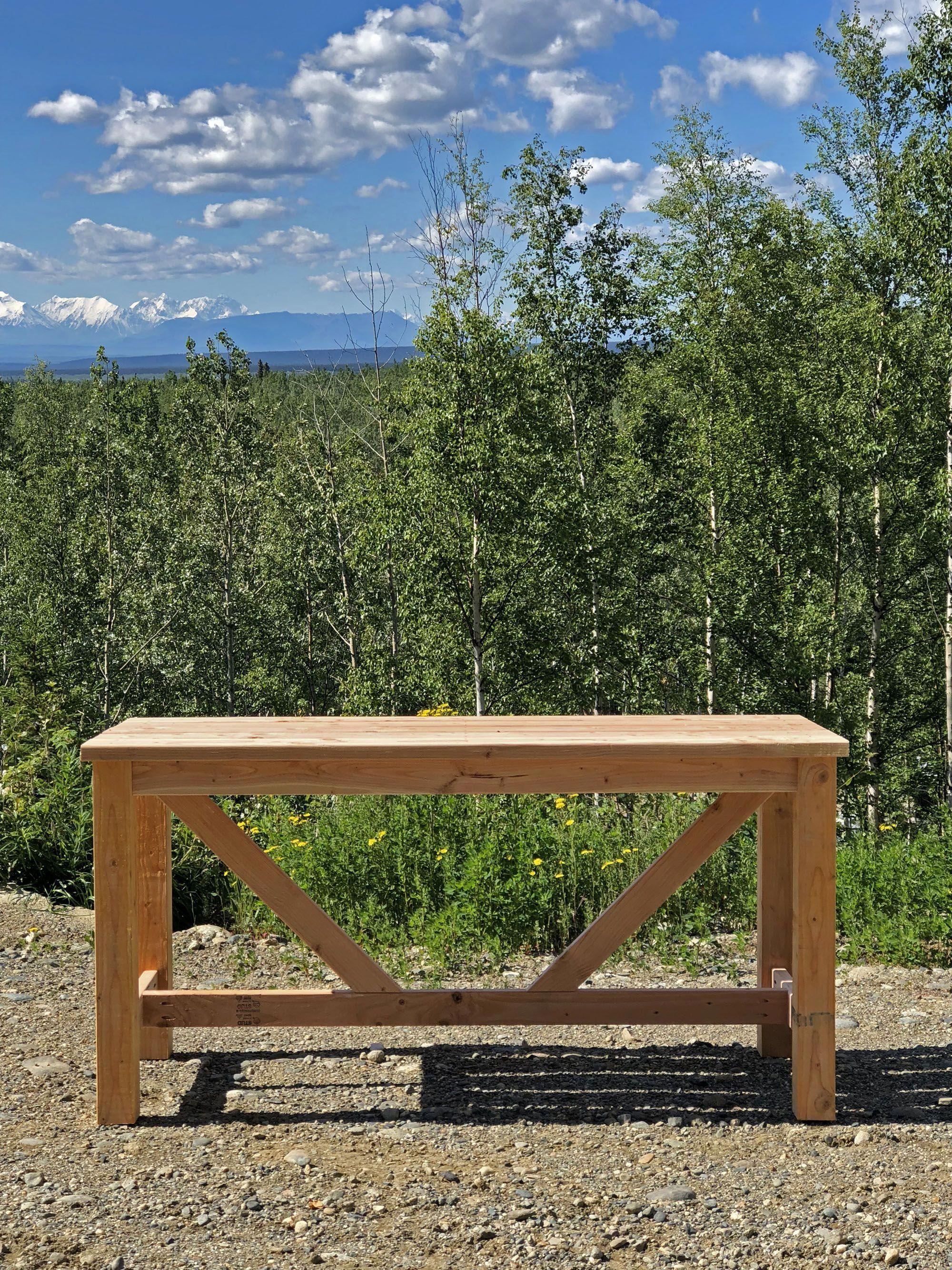 Ana white outdoor bar table diy projects bartablesdiy bar