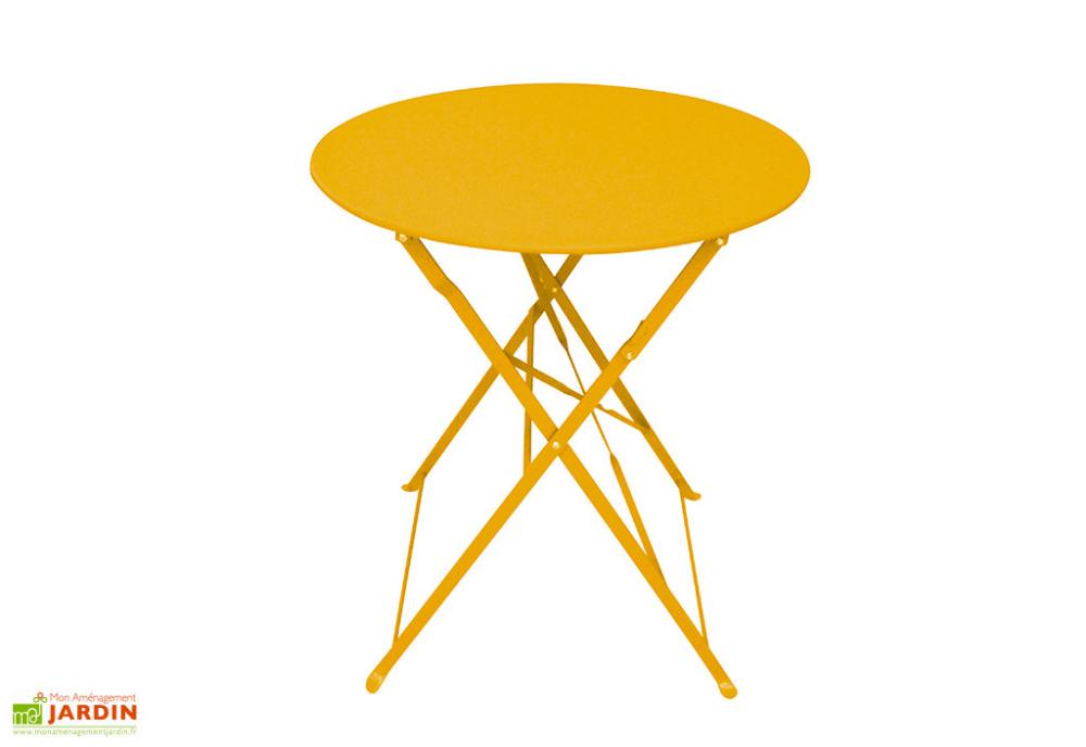 Table De Jardin Pliable Ronde En Acier Epoxy Bistrot 60 Cm En 2020 Table De Jardin Pliable Table De Jardin Table De Jardin Pliante