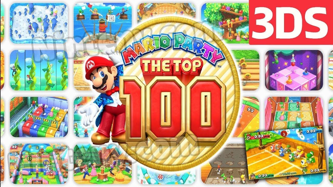 Liked on YouTube: Mario Party The Top 100 3DS Decrypted Cia