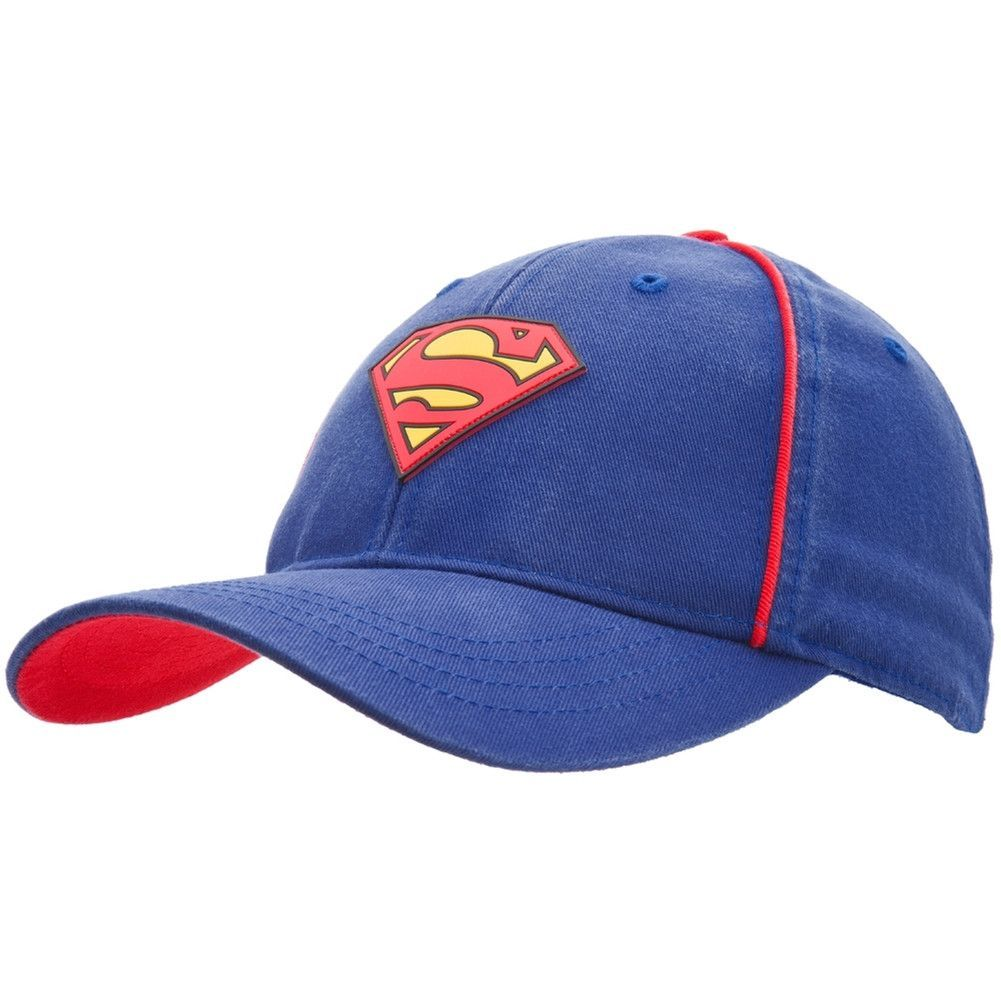 2190c82f9 Superman - Rubber Logo Adjustable Youth Cap | Products | Baseball ...
