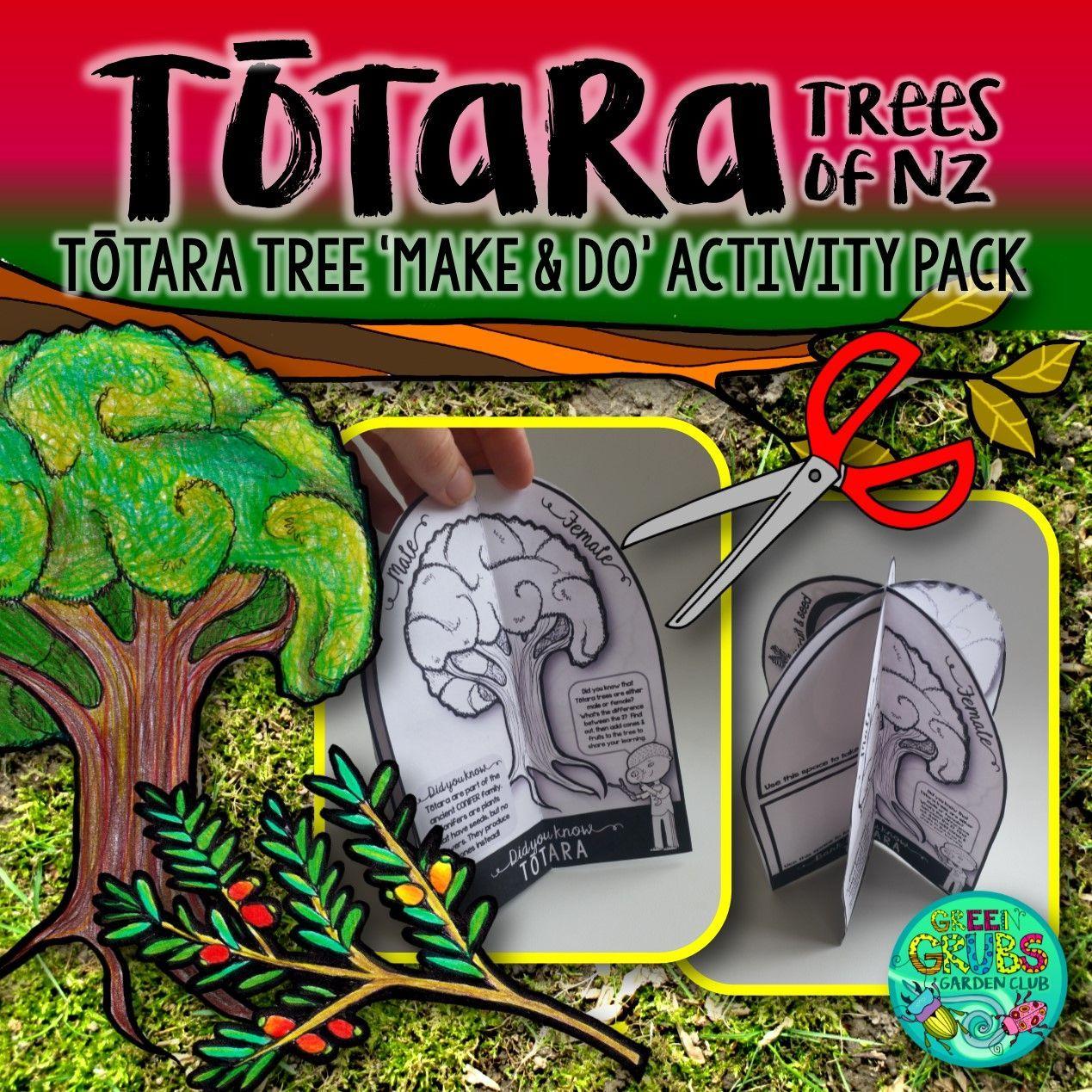Totara {New Zealand Trees Make & Do Activity Pack