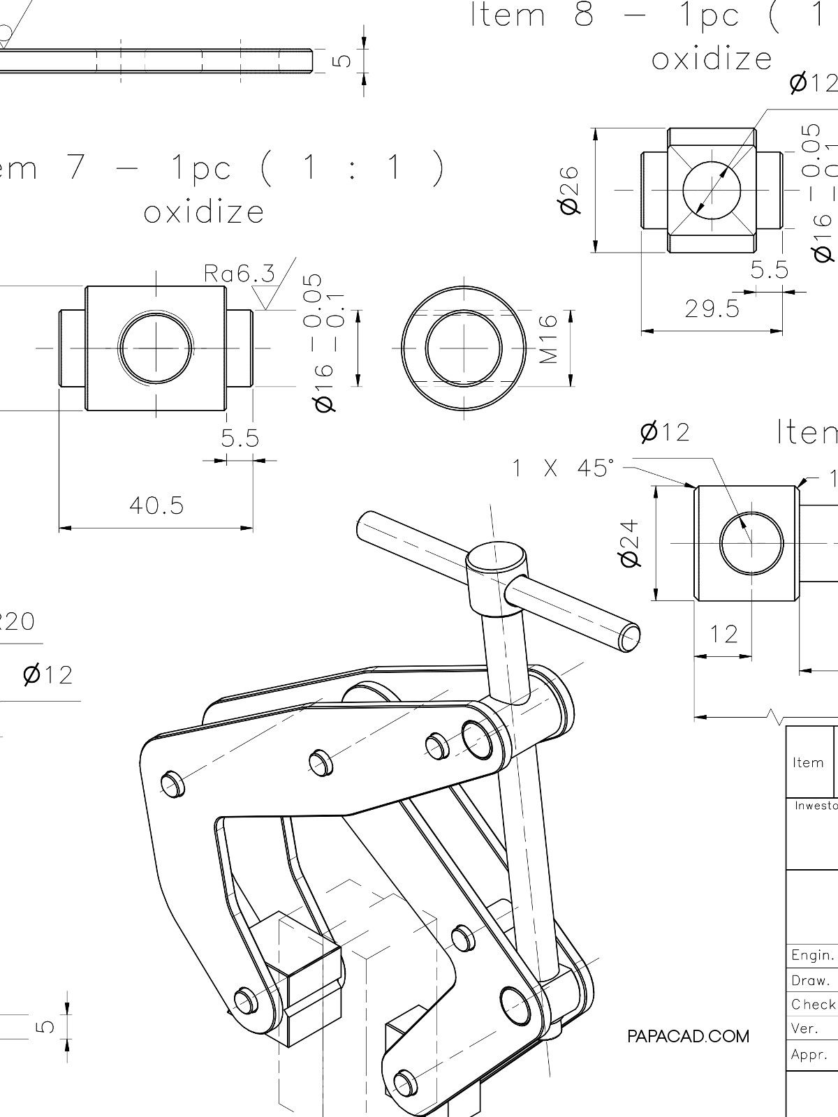 Pin On Clamp Design