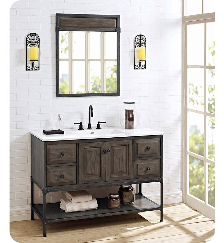Fairmont Designs 1401-48 Toledo 48 inch Traditional Bathroom Vanity