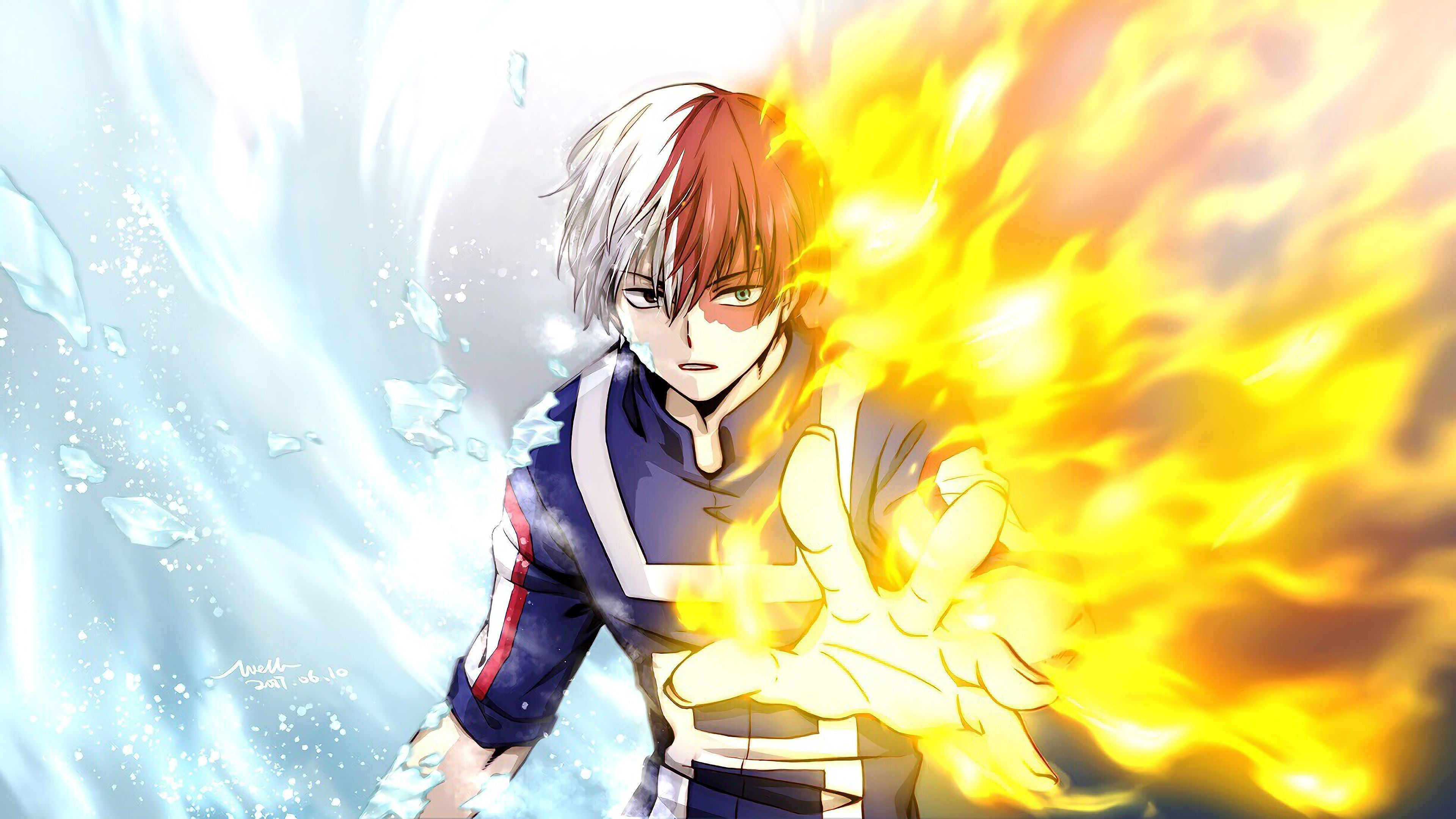 Free Download Todoroki Wallpaper Hd My Hero Academia My Hero