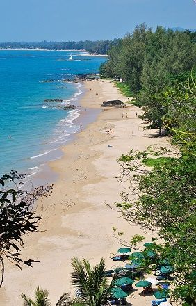 The stunning (and empty) beaches of Khao Lak, Thailand - a terrific alternative to the crowds of nearby Phuket
