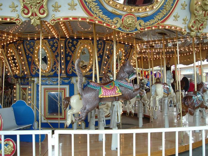 Ride The Carousel At Old Orchard Beach