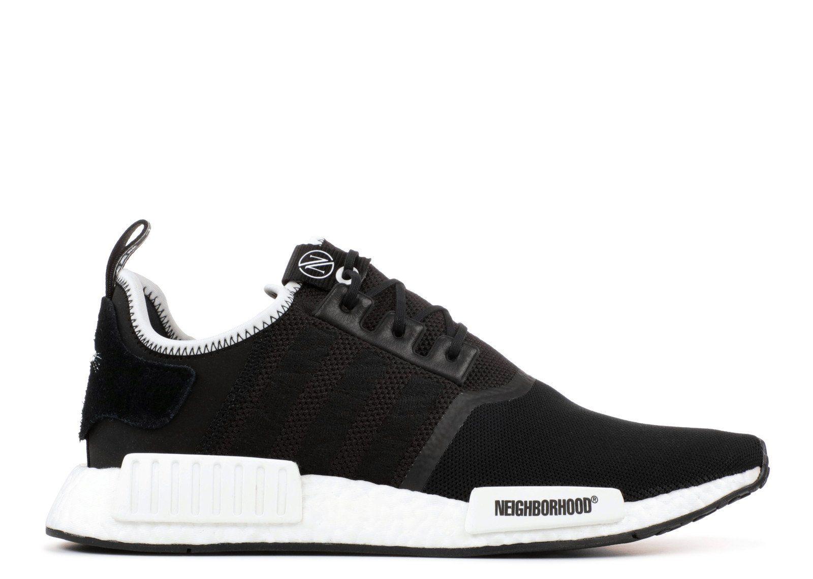 bc1e9aec17221 Adidas NMD R1 Champs Exclusive Sand Black White Cq0760 Fashion Shoe ...