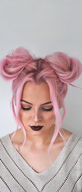 Pink lady frisur