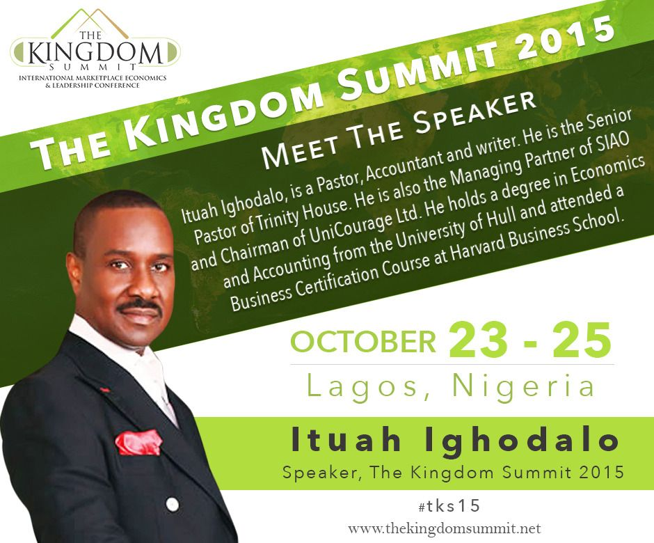 meet the speaker  ituah ighodalo  is a pastor  accountant