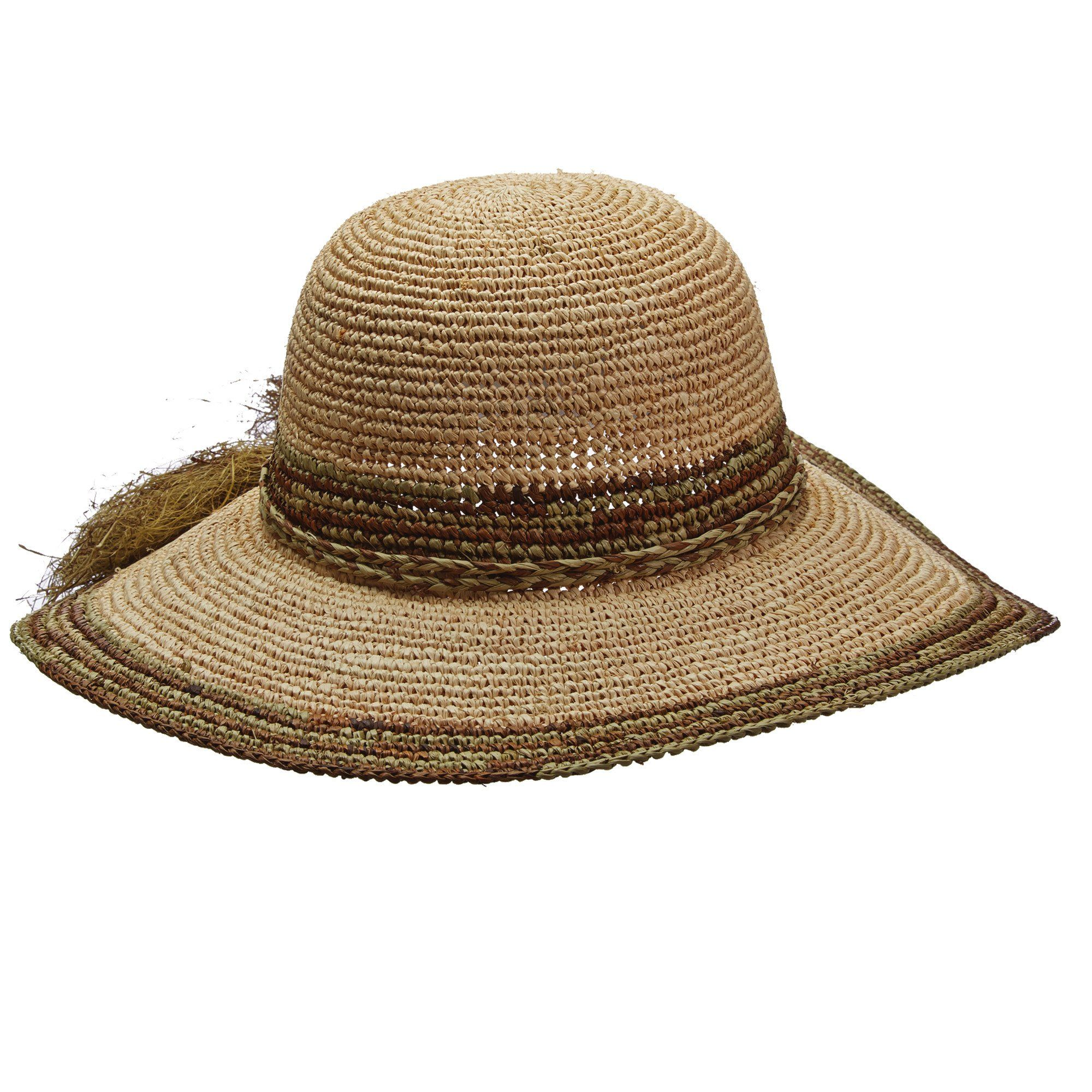 dc4b031a3 Hand Crocheted Raffia Floppy Hat by Callanan in 2019 | Products ...