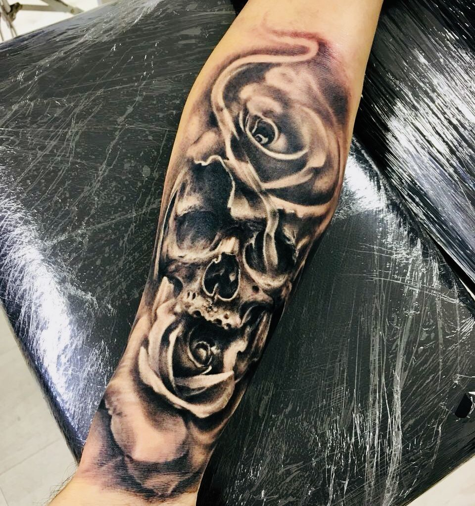 Unterarm tattoos mann