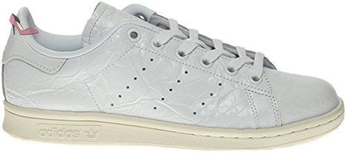 best sneakers 847ac 19478 Adidas Stan Smith Hombre Blanca Sneakers BB5162 Trainer piel (42 EU - 8UK,  blanc