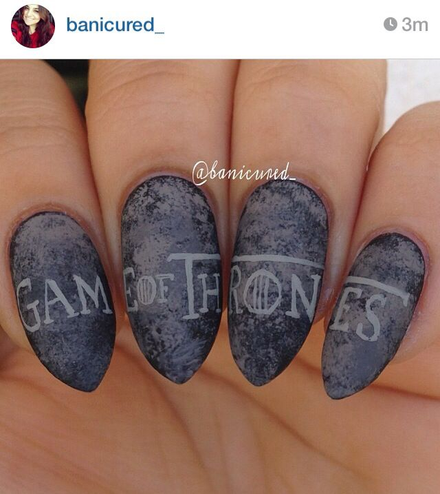Nail Art Game: Game Of Thrones Nails