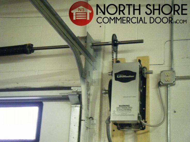 Liftmaster Mj 5011u Commercial Garage Door Opener Medium Duty Jackshaft Operator Garazhnye Dveri Garazh Masterskaya Garazh