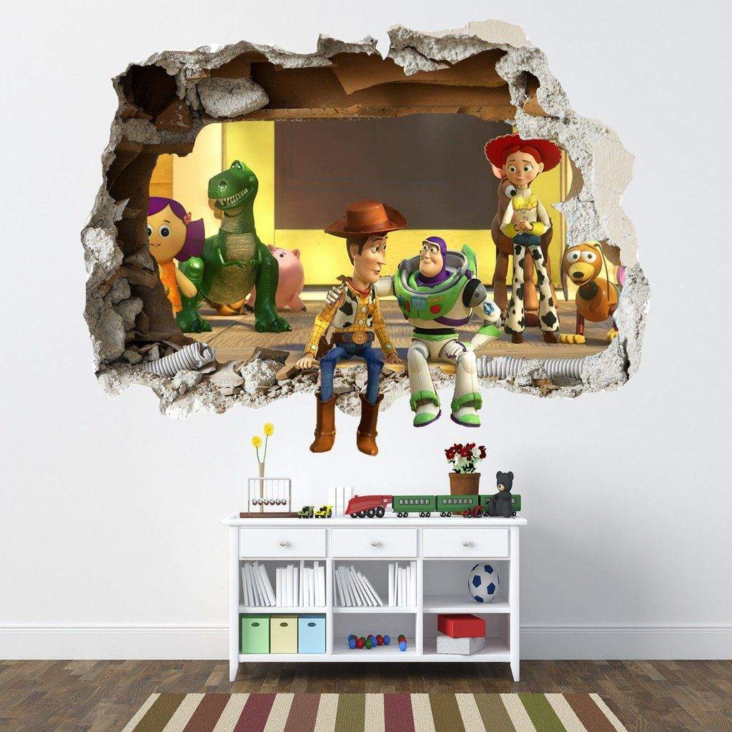Toy story d wall art willus room pinterest d wall art d