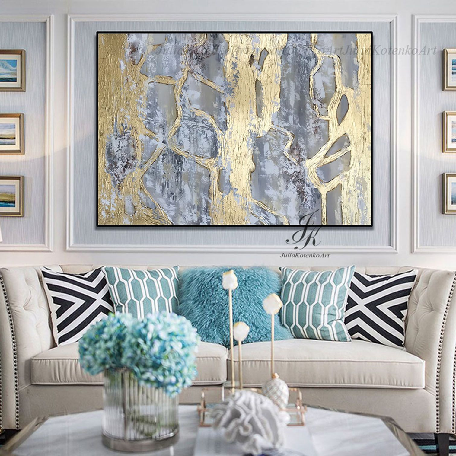 extra large wall art textured art gold leaf canvas art by on large wall art id=20990