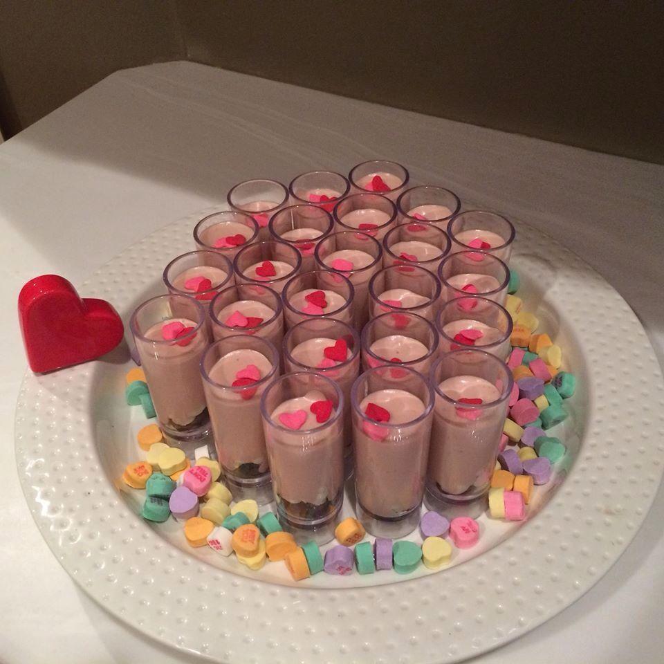 Mini devenshire cream  creams with cocoa