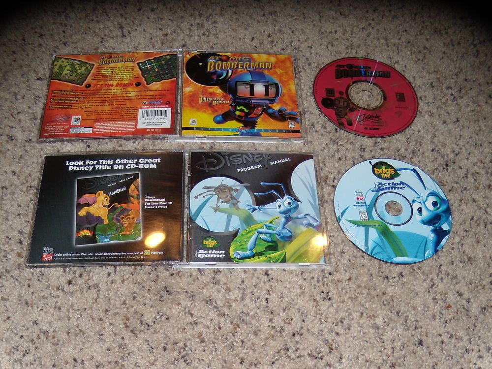 Atomic Bomberman Disney S Action Game A Bug S Life Pc Games Near Mint Video Games Consoles Video Games Ebay Action Games Bomberman Gaming Pc