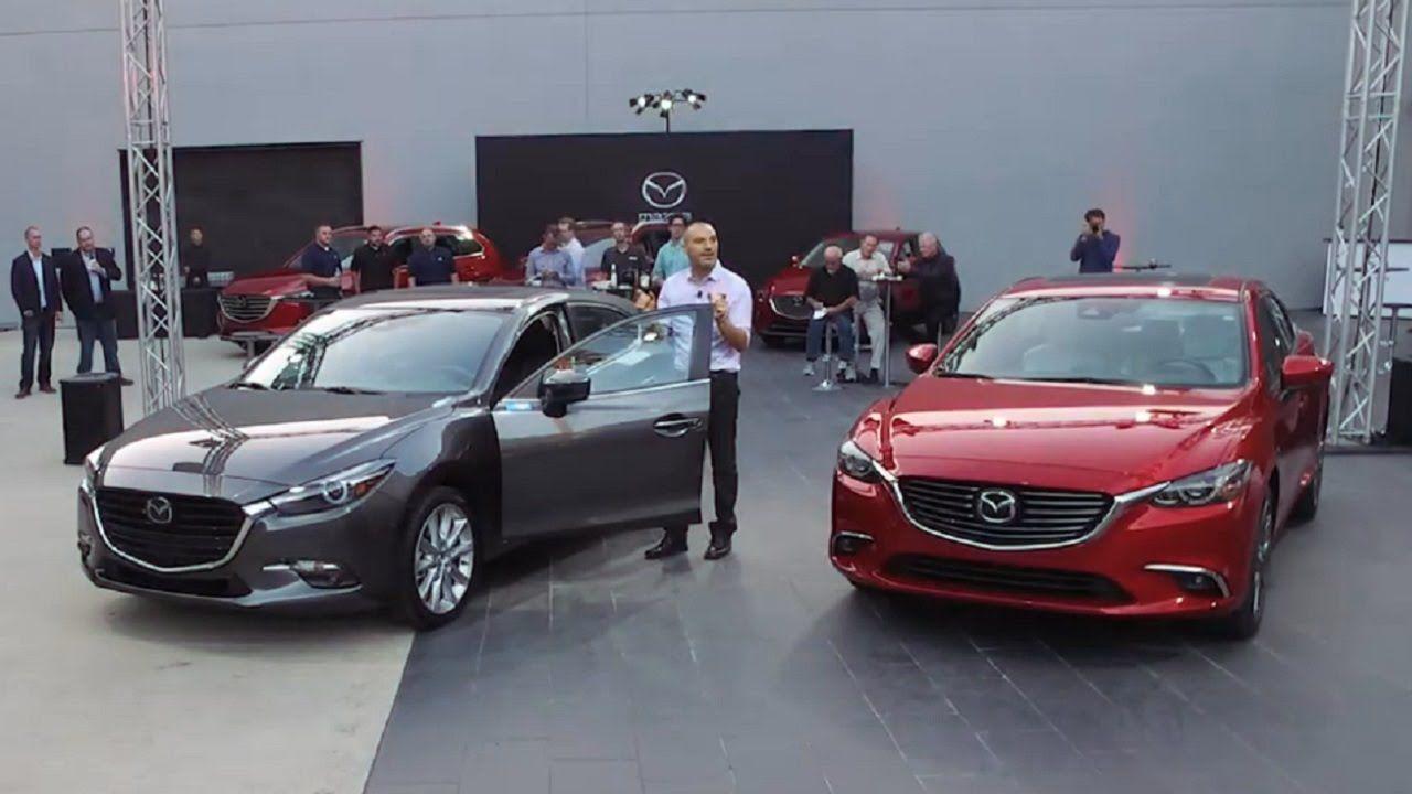2017 Mazda3 & Mazda6 World Premiere Mazda 6, Mazda