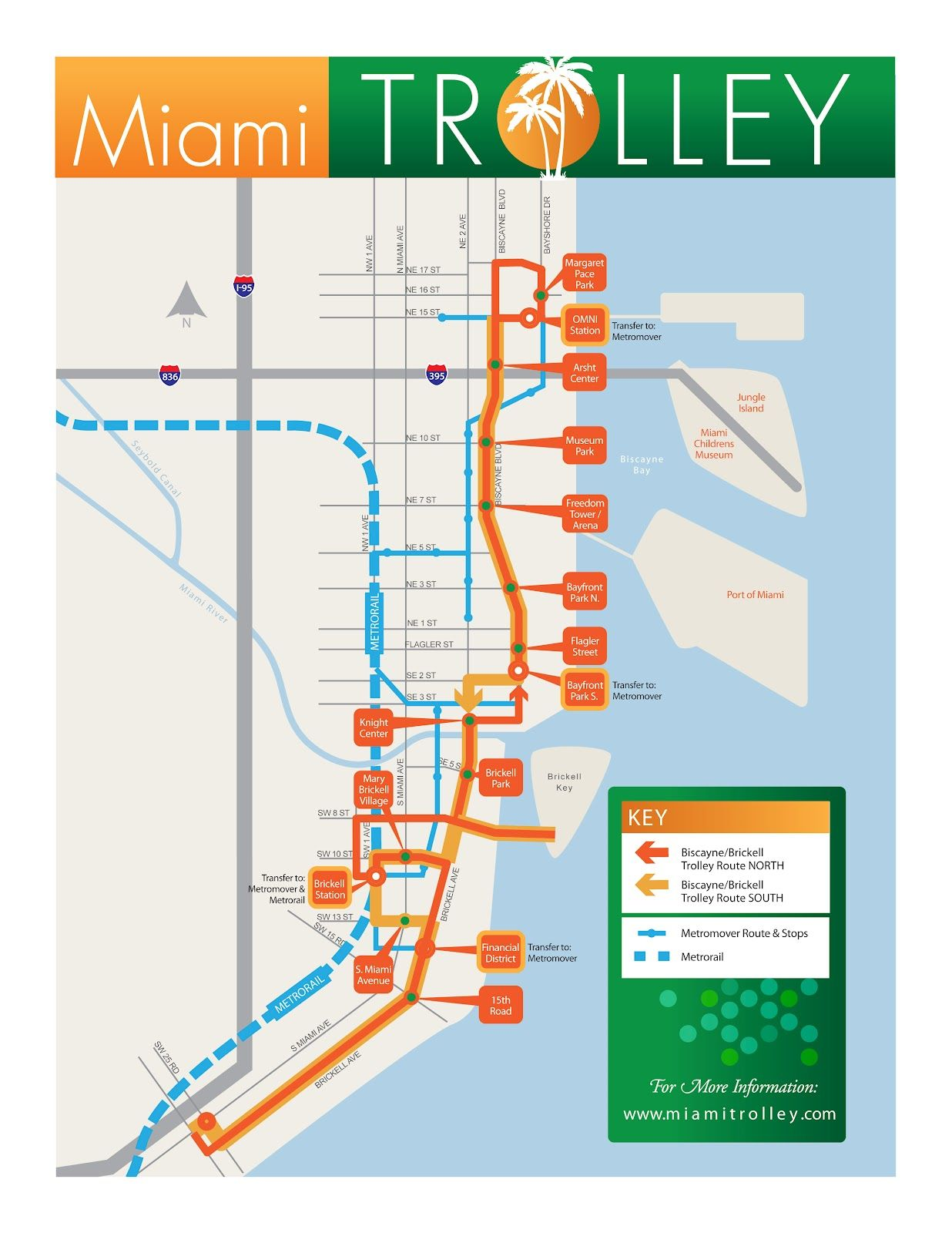 miami trolley | south beach miami, miami, florida