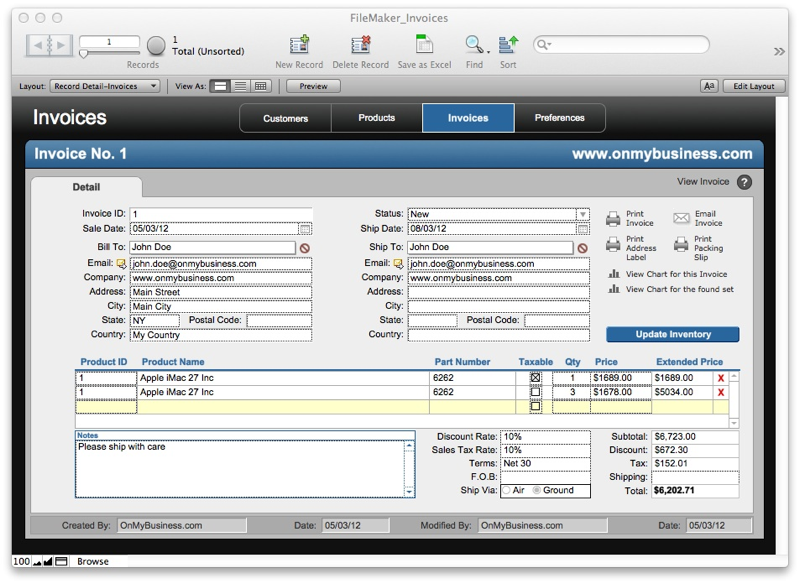 Free FileMaker Pro Starter Solutions Download Apps run