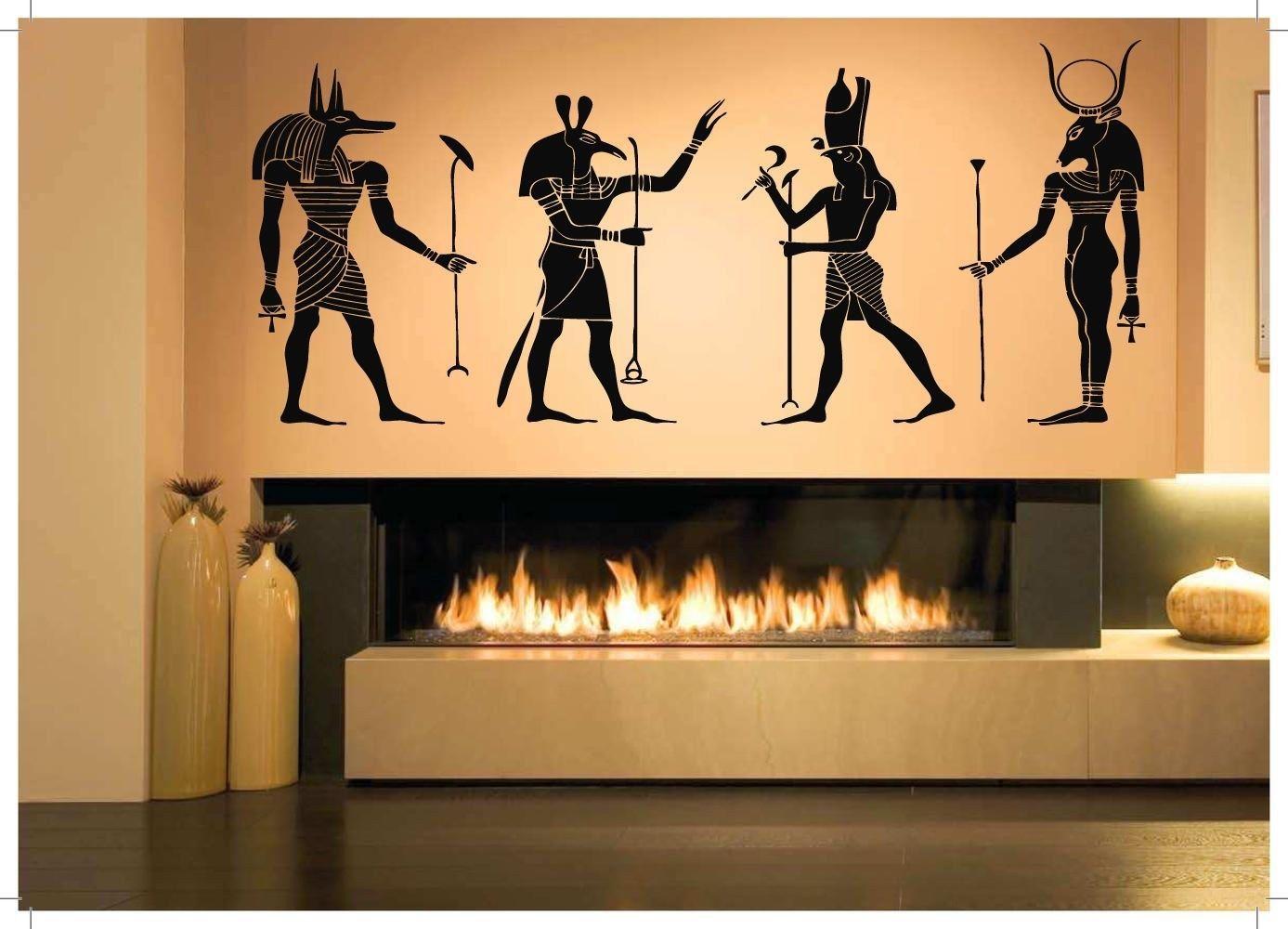 Wall Room Decor Art Vinyl Sticker Mural Decal Egyptian Gods Big ...