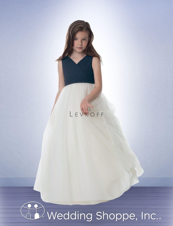 4a32e24f987 Bill Levkoff Flower Girl Dress 15401 in plum