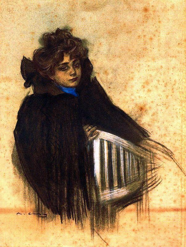 Ramon Casas i Carbó, Molinera de la Galette, 1900