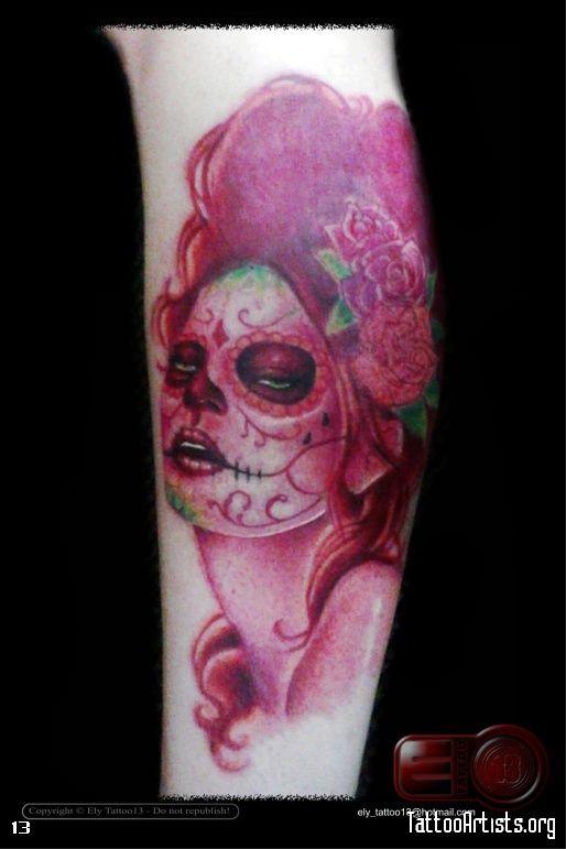 Santa Muerte Tattoo Artistsorg picture