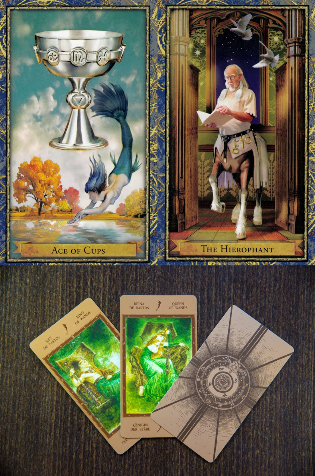 psychic tarot readings, vintage tarot cards and alison day