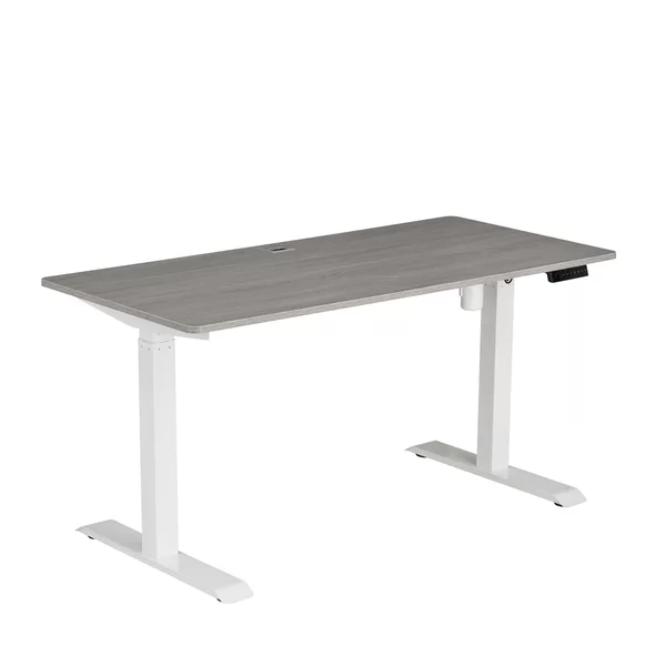 This Electric Height Adjustable Desk Offers An Easy Transition