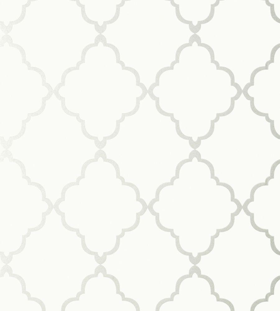 Klein Trellis Off White Wallpaper Seraphina Wallpaper