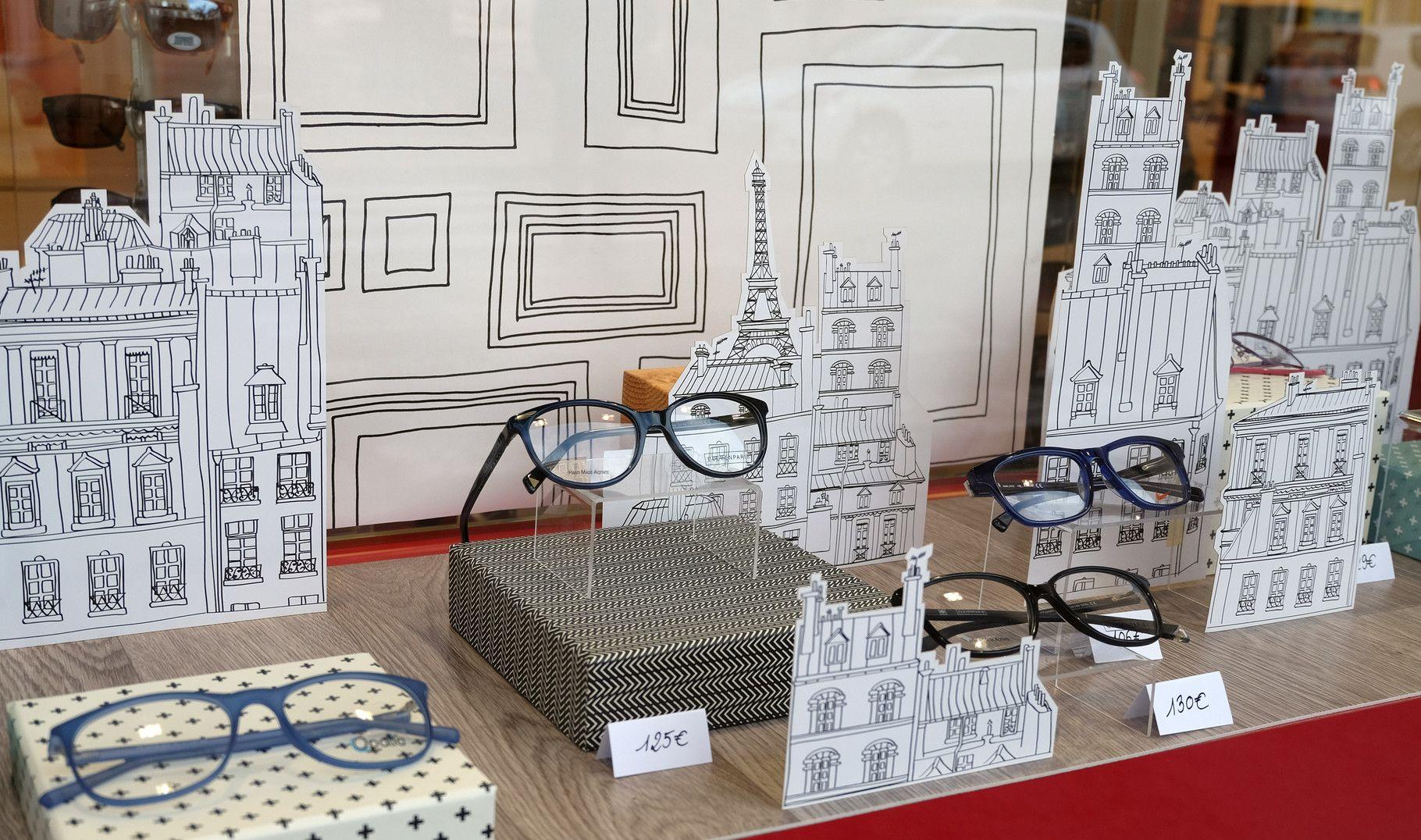 vitrines la belle id e my work pinterest vitrines la belle et optique. Black Bedroom Furniture Sets. Home Design Ideas
