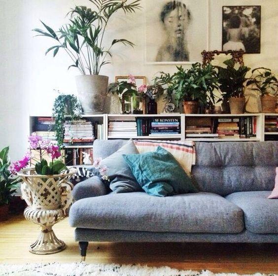 Decorare il soggiorno con le piante! Ecco 20 idee a cui ...