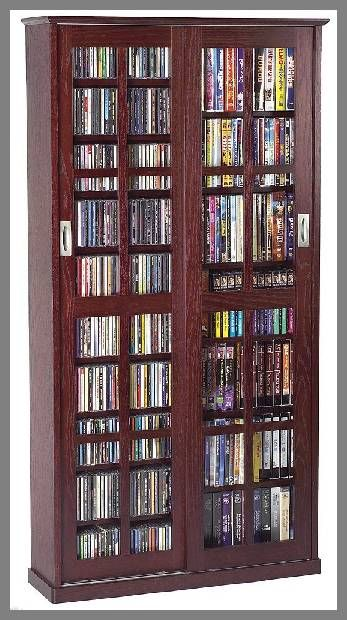 Wood Storage Cabinet With Glass Doors Home Garden Pinterest