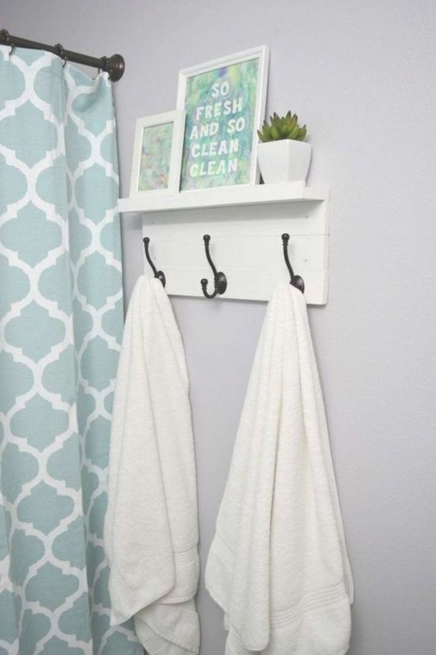 Bathroom Towel Rack Decoration Ideas Diy Towel Rack Bathroom Towel Hooks Hand Towels Bathroom