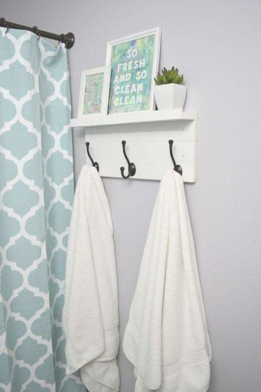 Bathroom Towel Rack Decoration Ideas Diy Towel Rack Bathroom Towel Hooks Hand Towels Bathroom