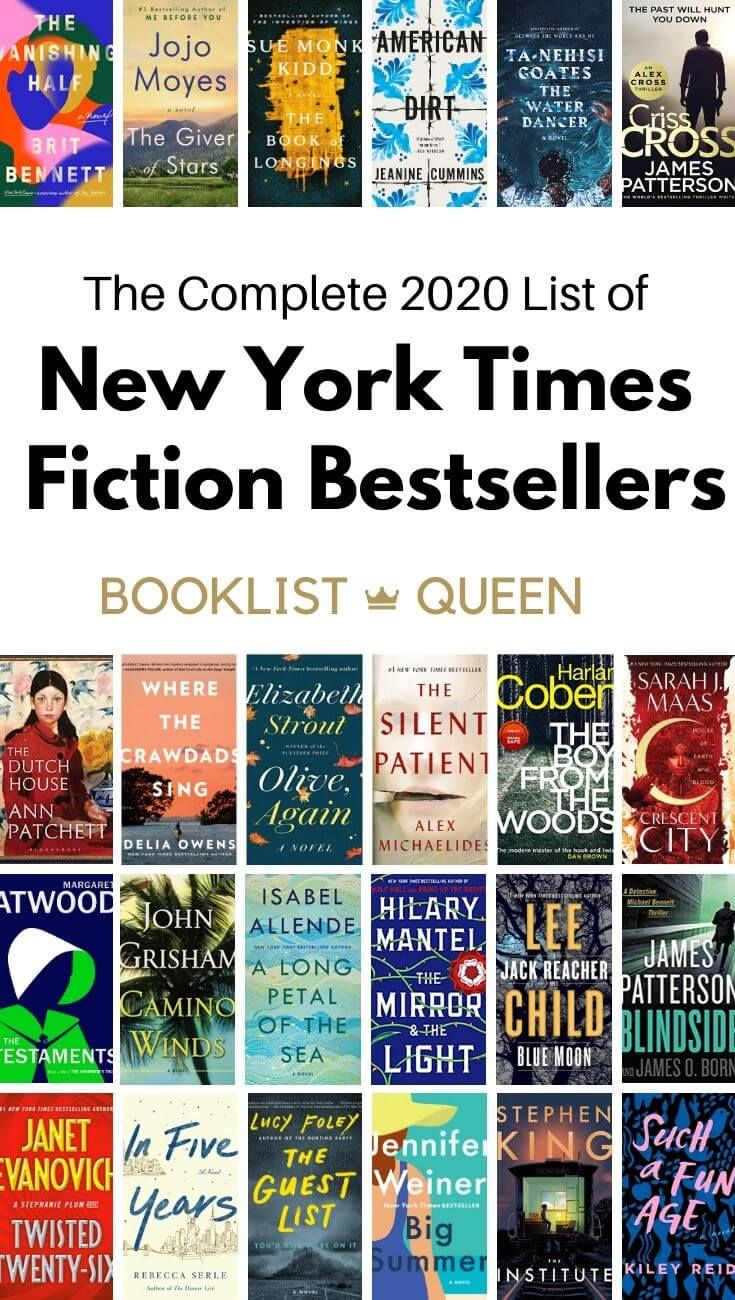 The Complete List of New York Times Fiction Best S