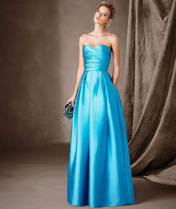 baba3ebc5f Precioso y llamativo vestido con escote bañera