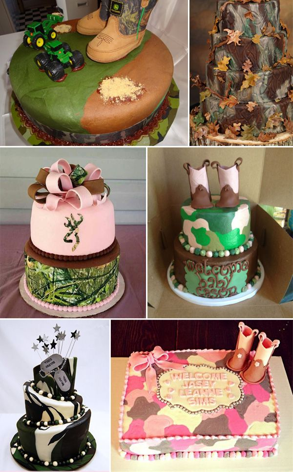 Camo Baby Shower Ideas Cute Ideas Pinterest Camo Baby Showers