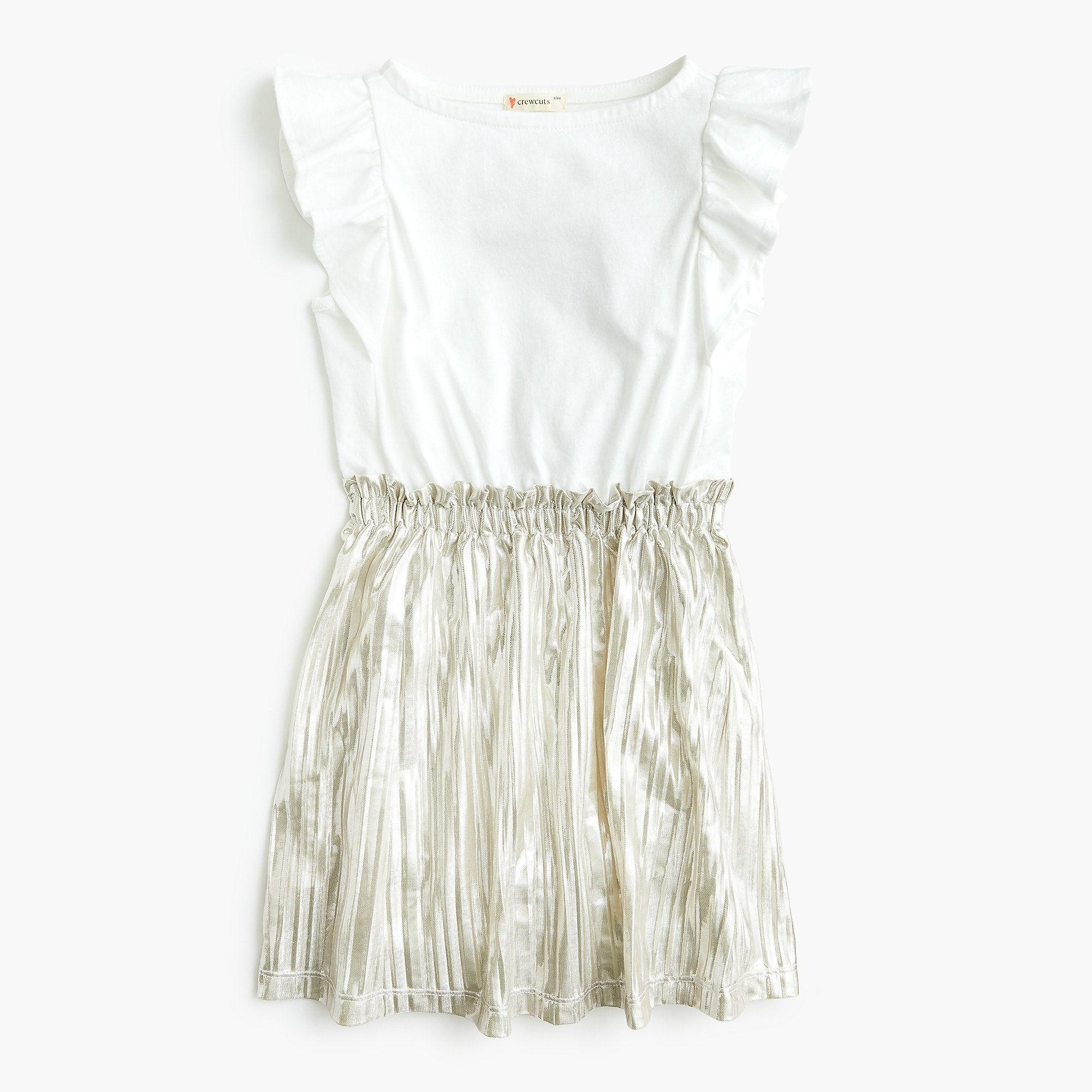 1f5218c4f Girls' mixed-media dress - Girls' Dresses | J.Crew | Wedding ...
