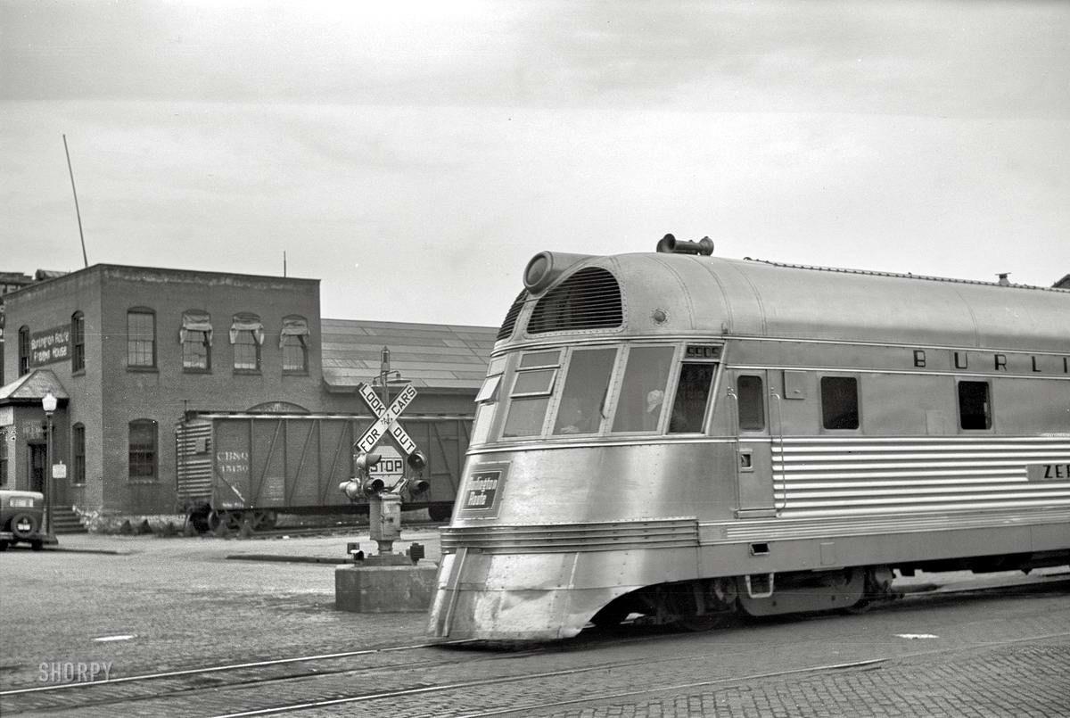 полюбоваться старые фотографии локомотивов мне