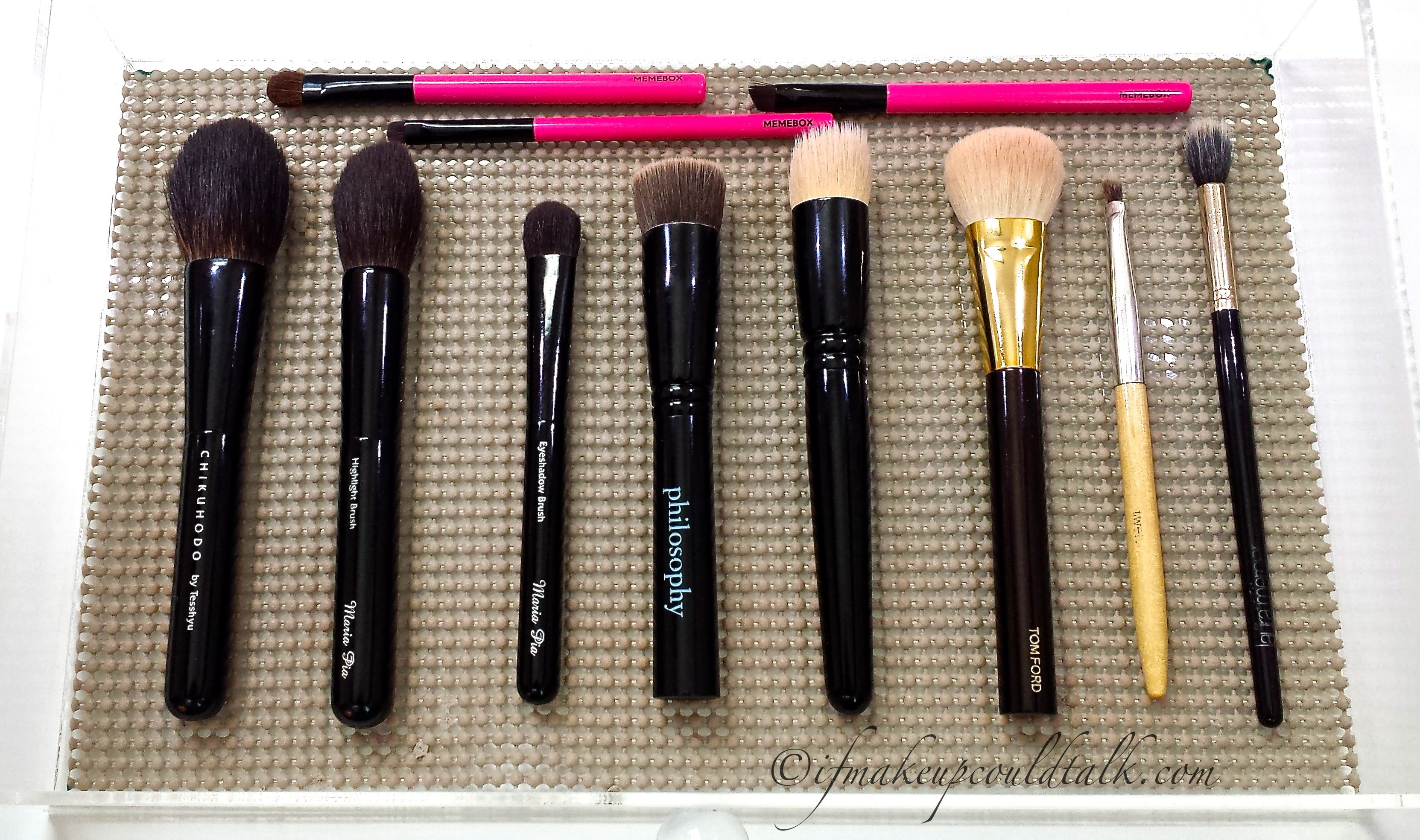 Best of Beauty 2014 Brushes Chikuhodo Z8, Z4, Z5