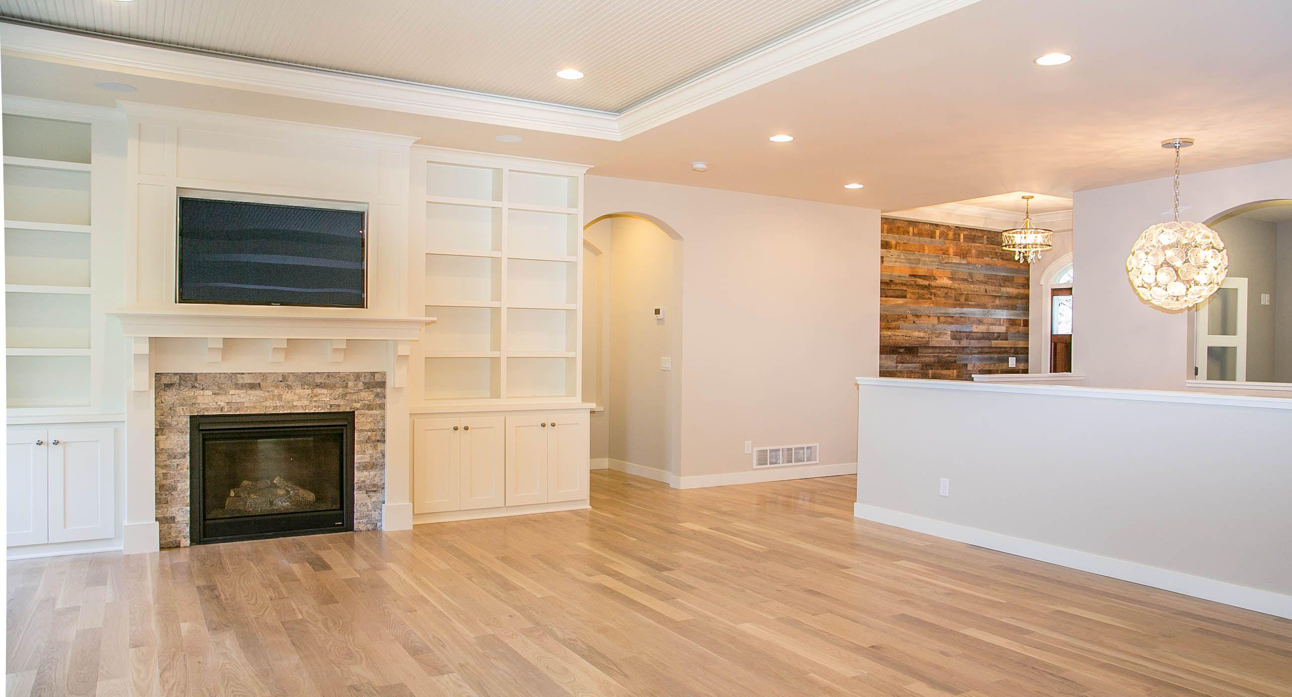 This custom floor plan has beautiful fixtures and stunning