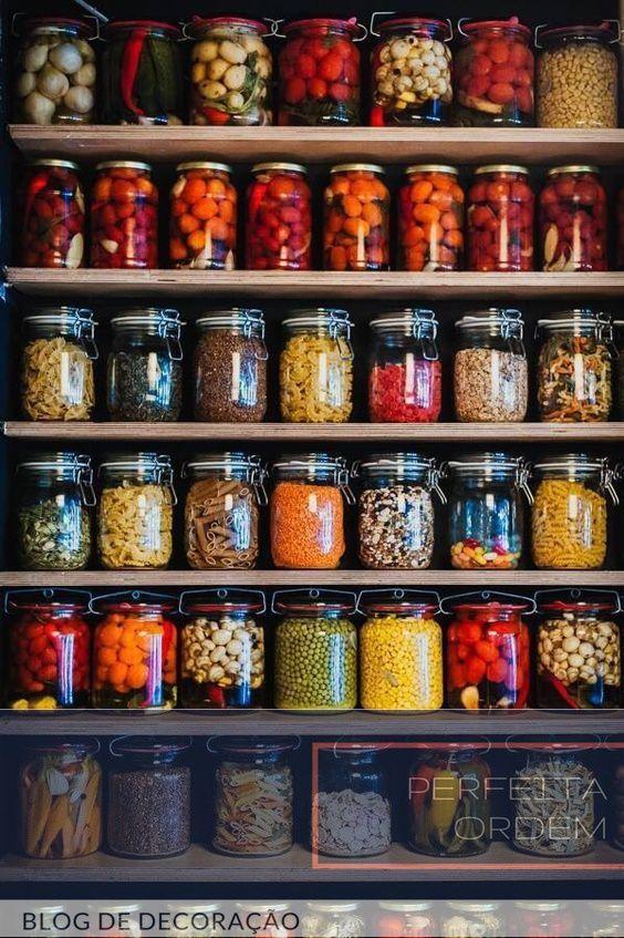 Cozinha...10 ideias simples e econômicas pra deixar tudo organizado