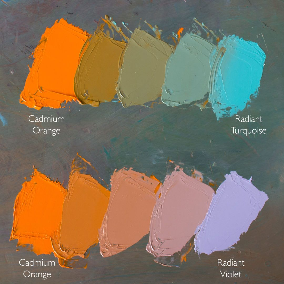 Gamblin Radiant Colors History And Painting Techniques In 2020 Color Mixing Chart Paint Charts Oil Painting Tips